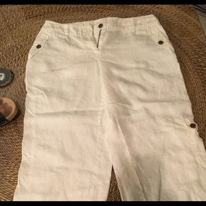 Style and Company white capris
